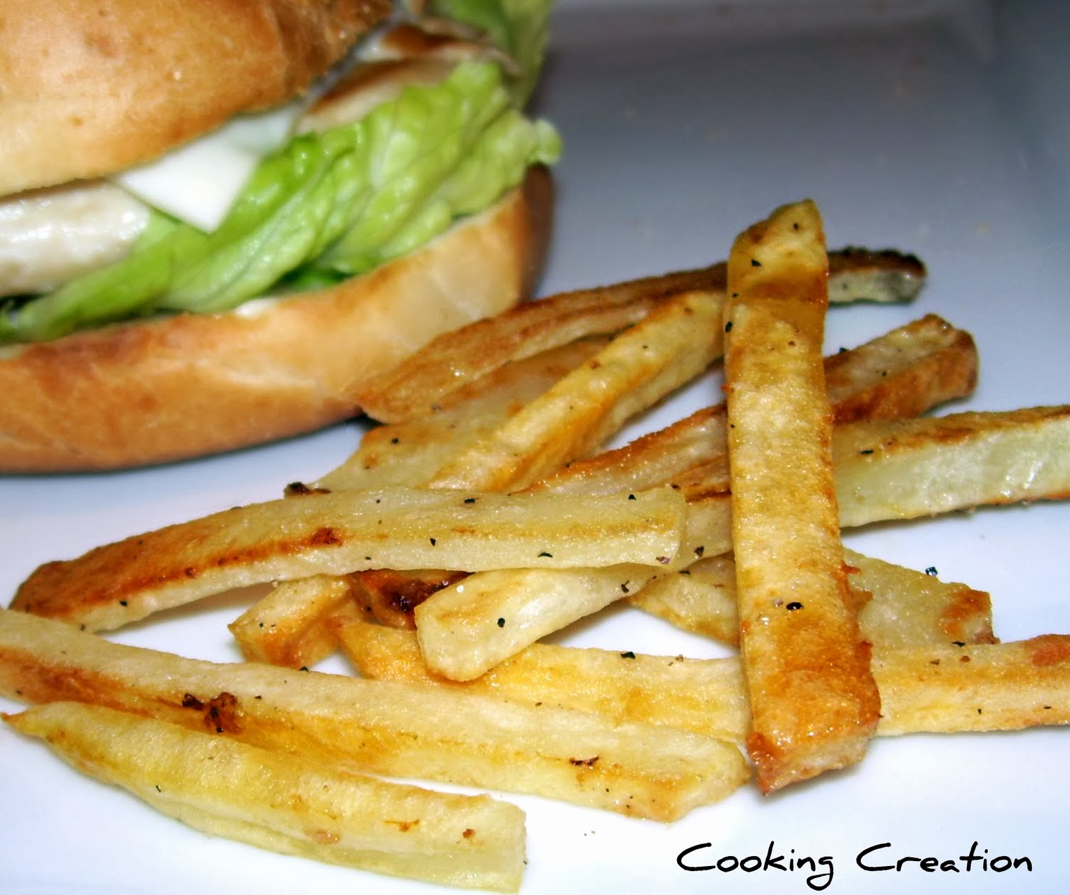 Cooking Creation: Homemade Baked French Fries