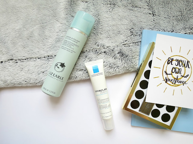 Skincare Liz Earle Cleanse and Polish La Roche Posay Effaclar Duo+