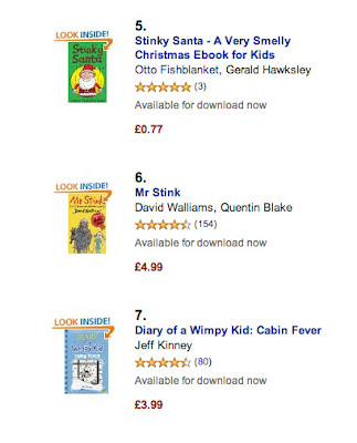 Screenshot of my incredible bestselling success