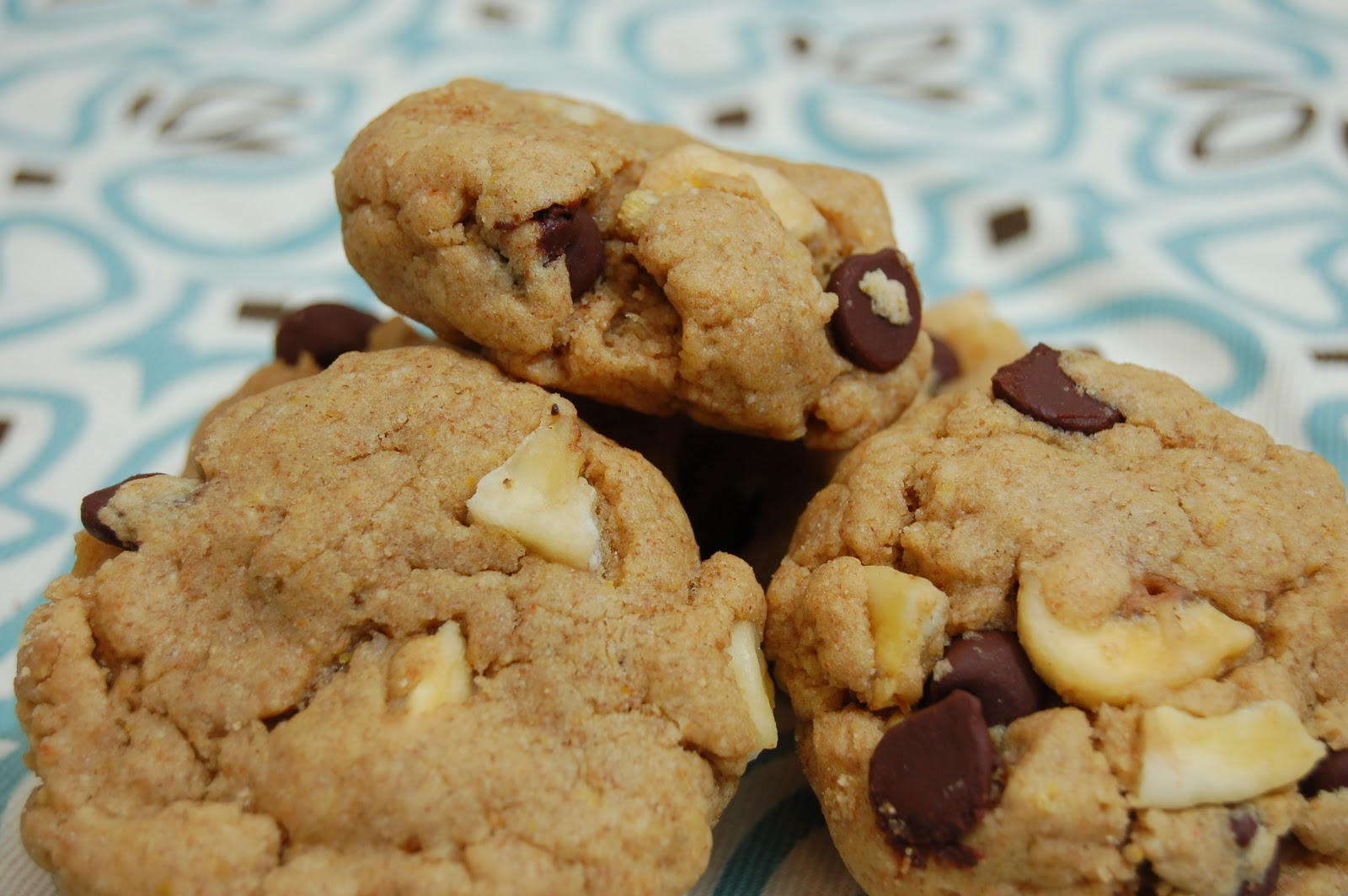 Peanut Butter Chocolate and Banana Chip Cookies - A ...
