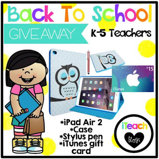 iTeach Second giveaway!