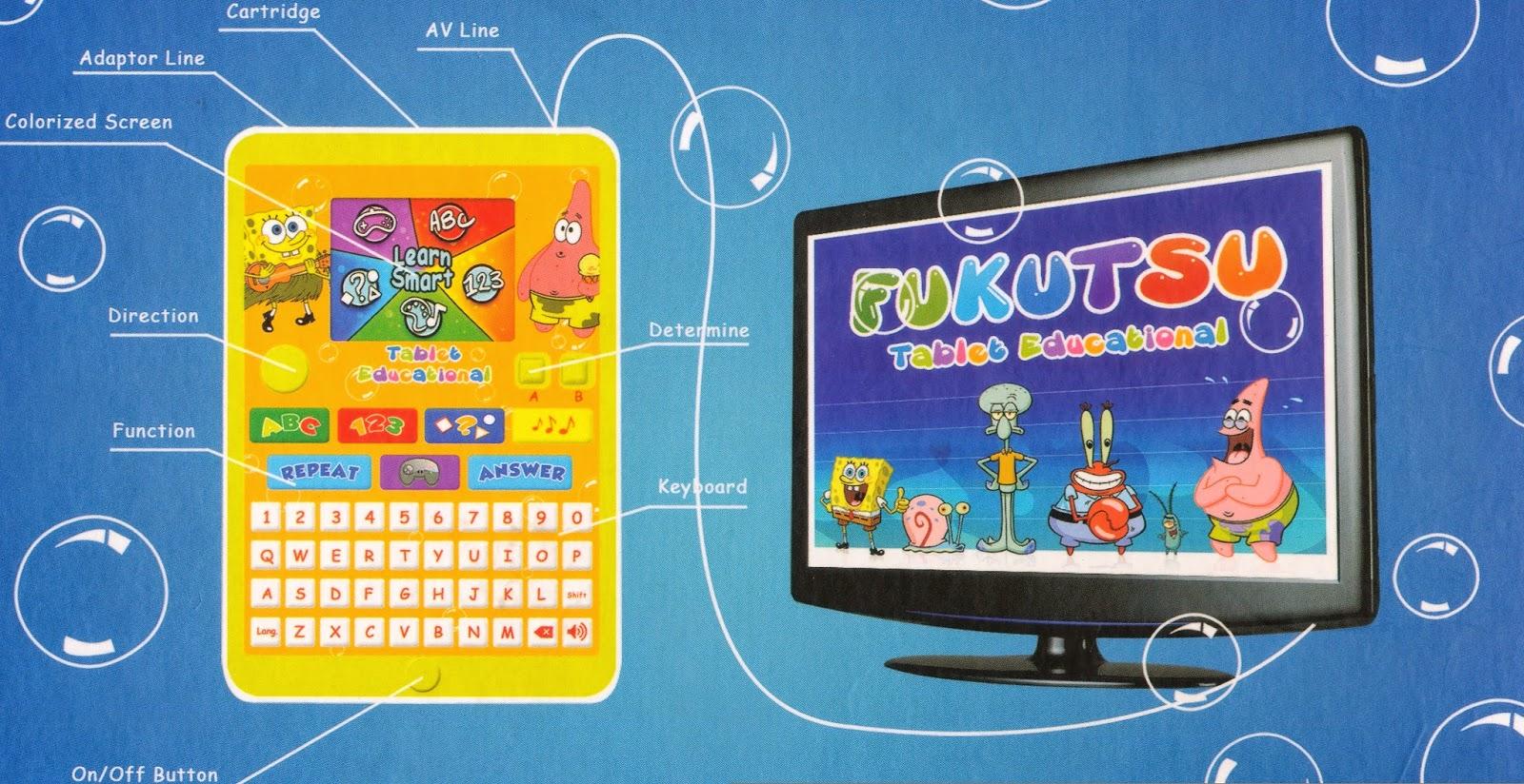 fukutsu tablet pendidikan anak