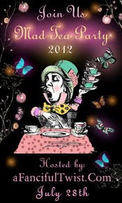 Vanessa Valencia @ A Fanciful Twist is hosting her 5th Annual Mad Tea Party