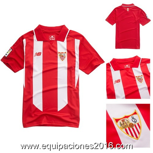 segunda equipacion Sevilla FC baratas