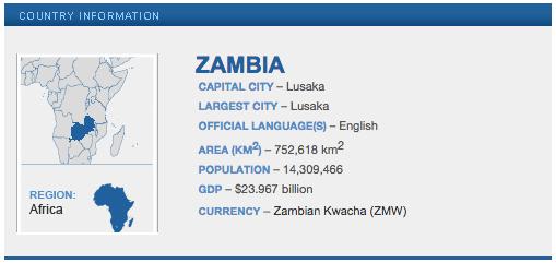 Zambia Peace Corps Volunteer