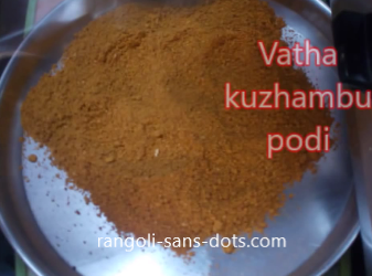 Different types of podi
