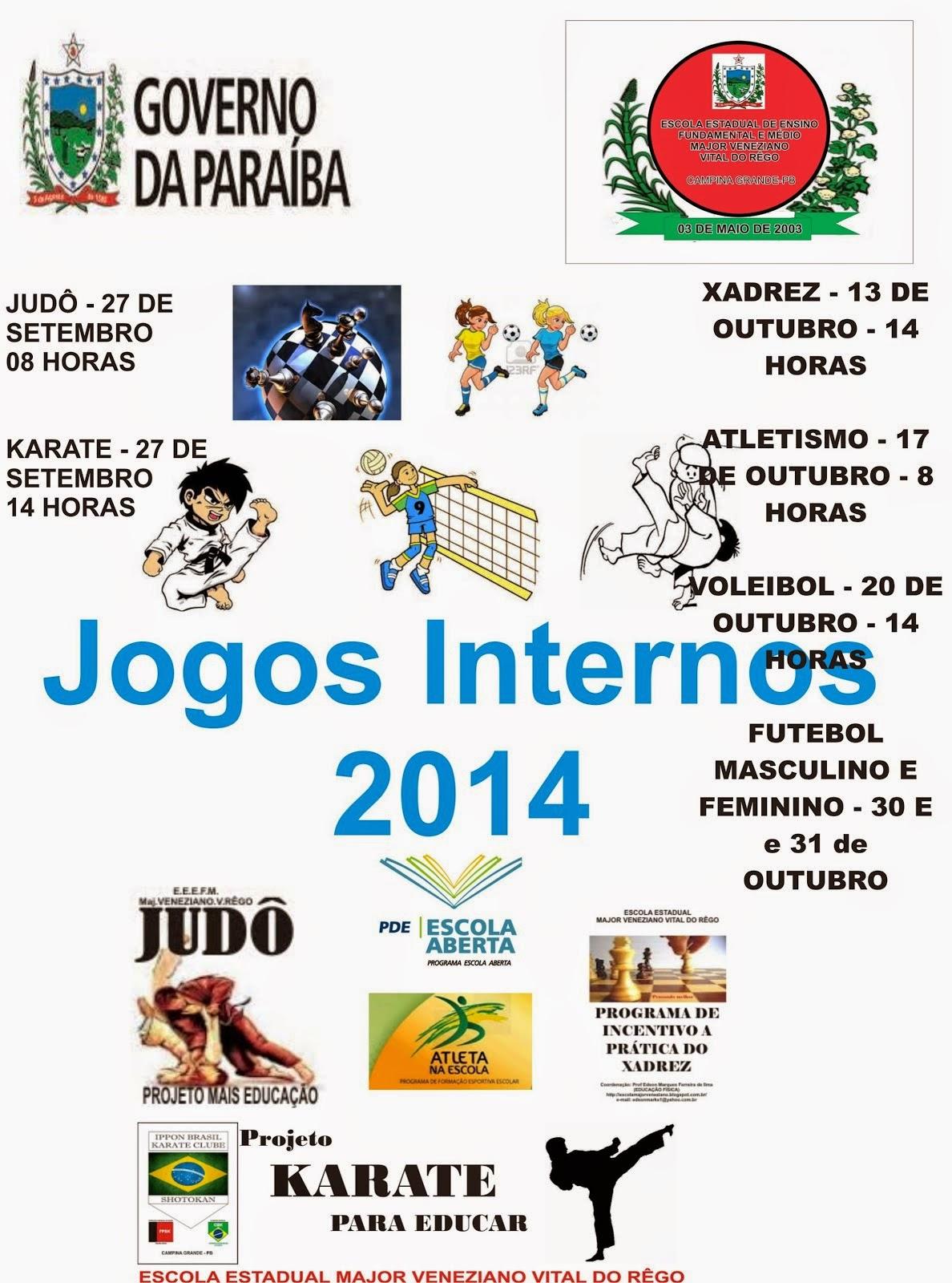 JOGOS INTERNOS 2014