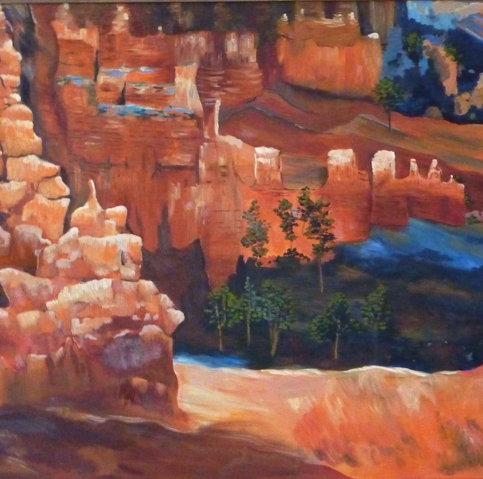 Scene from Bryce Canyon