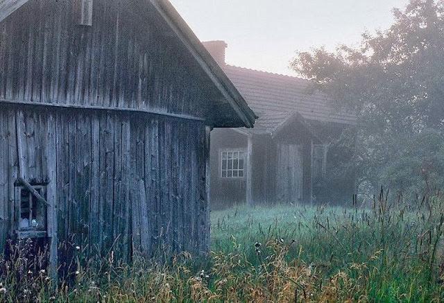 La cabaña abandonada del bosque de Kai Fagerström