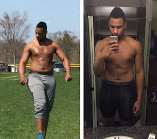 Jared Sullinger's trainer posts photo of Boston Celtics big man going through shirtless workout Sully%2BWeight%2BLoss%2B2