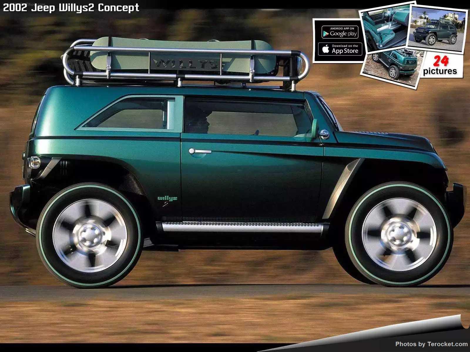 Hình ảnh xe ô tô Jeep Willys2 Concept 2002 & nội ngoại thất