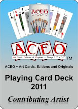 ACEO Playing Card Deck 2011