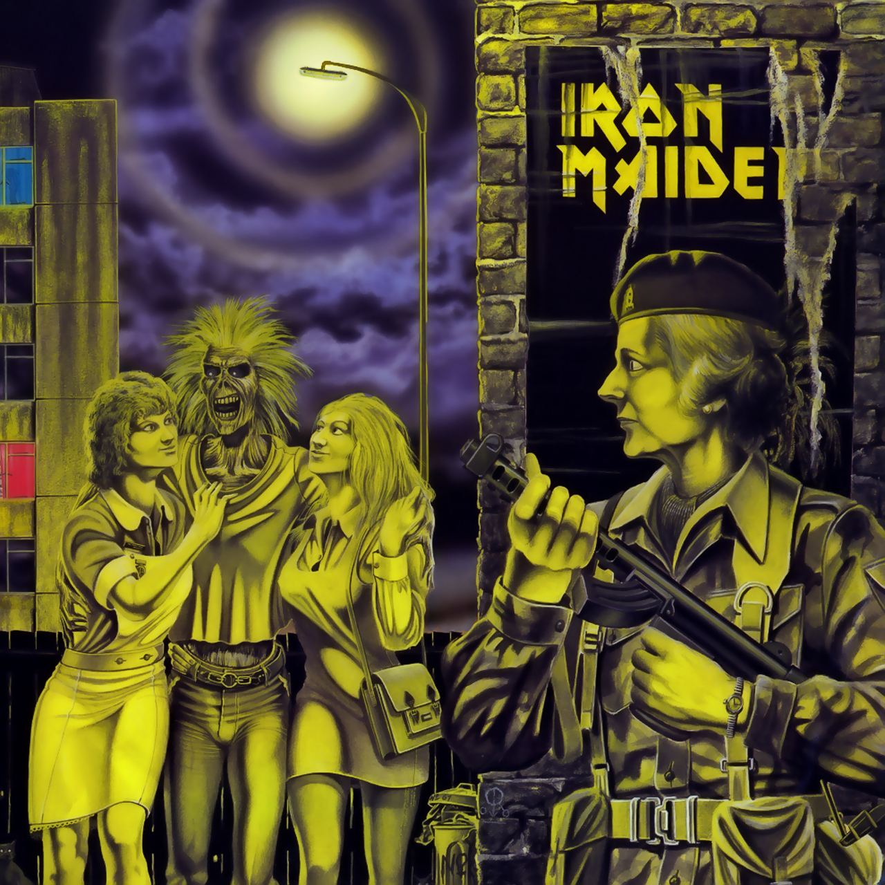 single women in maiden rock Style rock  is this  1980 french pressing of iron maiden, women in uniform 12 single this single was released in 1980 on emi records, emi – 2c 052-52879z.