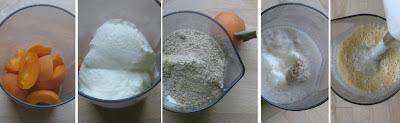 Zubereitung Aprikosen-Joghurt-Erdmandel-Shake