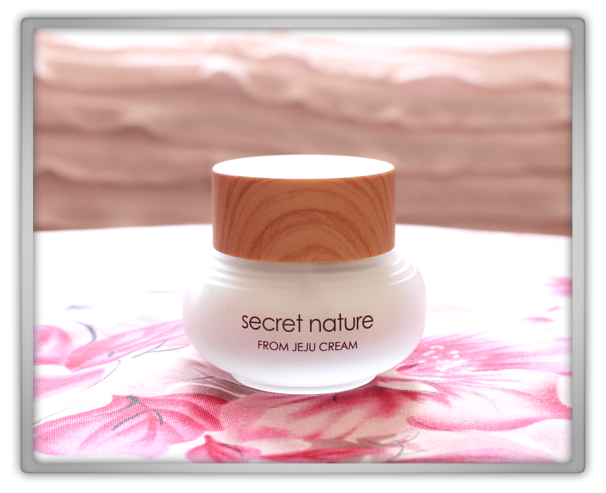 Secret Nature From Jeju cream Haul Review preview honest pink korean cosmetics skincare asian flowers memebox jolse