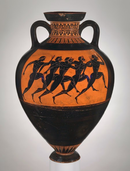 Arts Underground Figures In Action Greek Pots