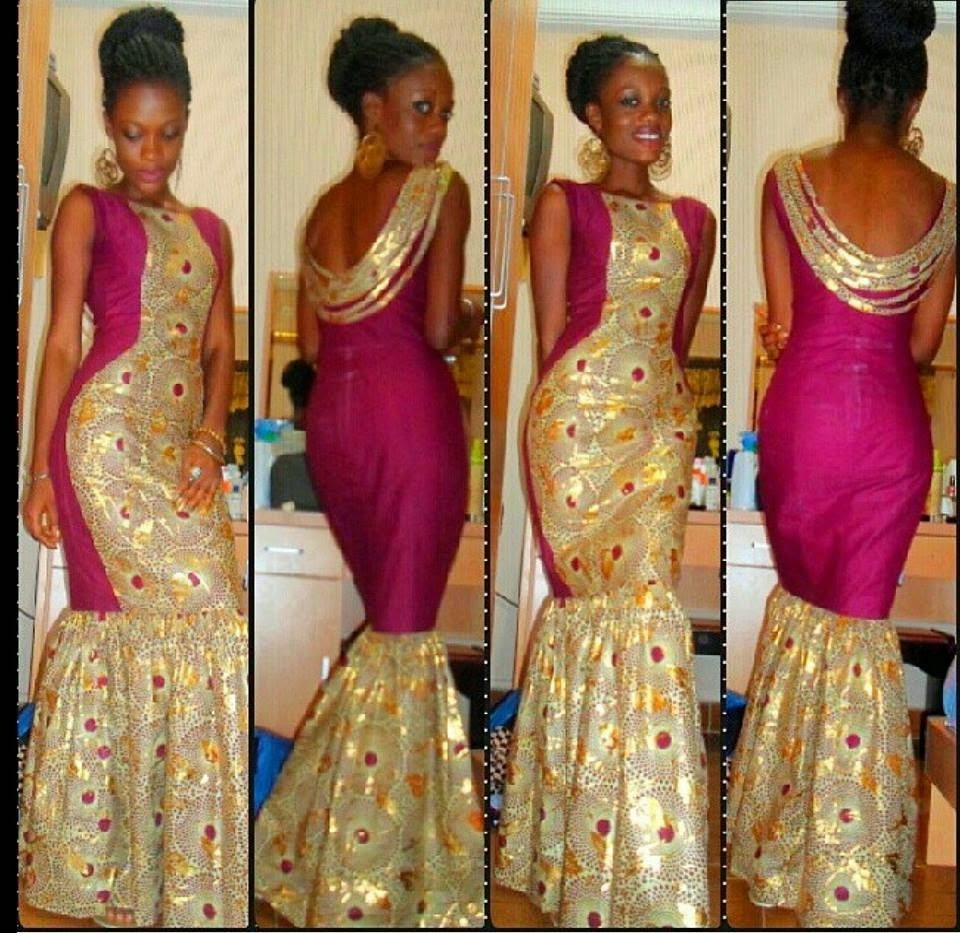Of chitenges and ankaras for African lace wedding dress