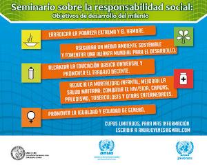 17 de mayo Seminario sobre Responsabilidad Social