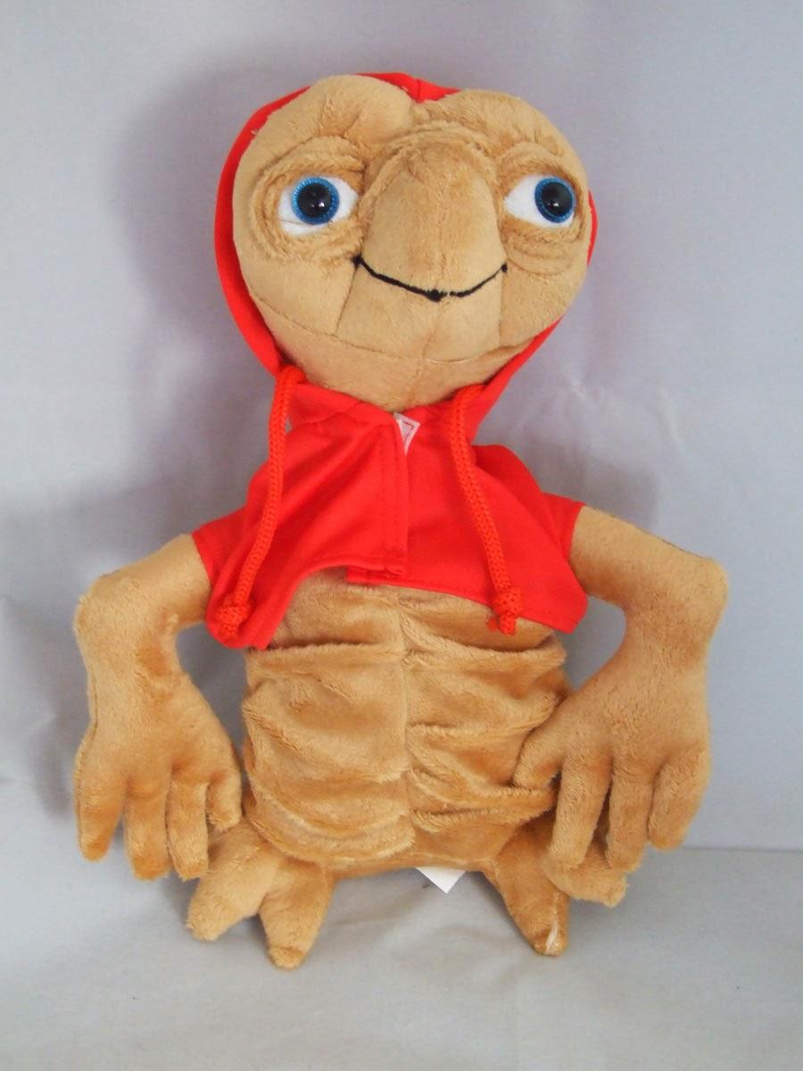 Peluche E.T. con capucha roja