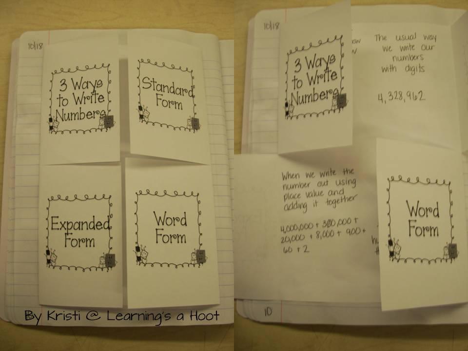Smiles and Sunshine: Math Notebooks