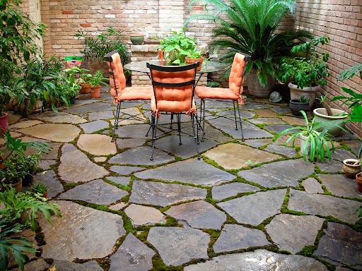 Backyard garden design dry cooling backyard design ideas - Outdoor patio floor ideas ...