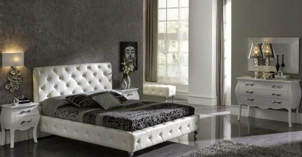 Top 10 noir et blanc chambre design for Chambre noire et blanc