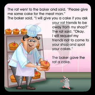 baker, rat ,cake