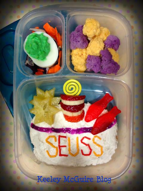 Gluten Free Dr Seuss Lunch