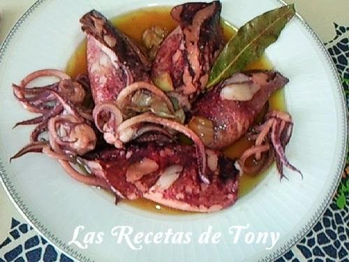 Calamares De Potera Al Aceite De Oliva Virgen