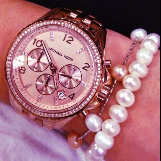 michael kors watches rose gold with diamonds fashions