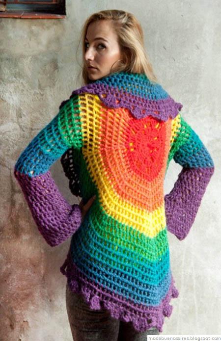 De las Bolivianas tejidos artesanales. Moda tejidos 2012 2013.