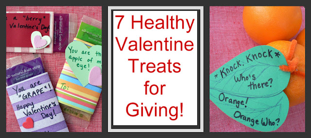 Healthy Valentine Treats for kids