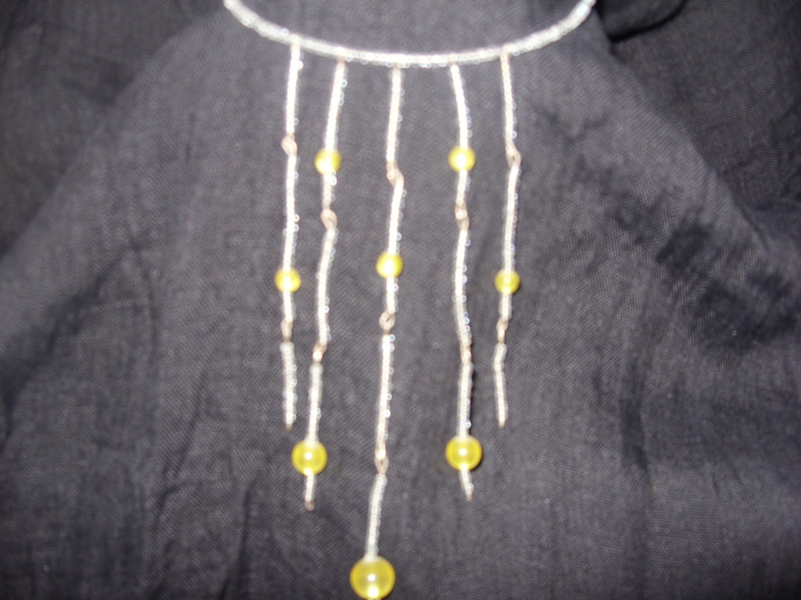 Curtain necklaces – Beauty and the Mist