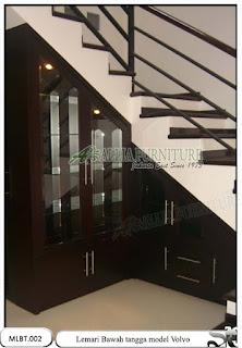 Lemari minimalis bawah tangga volvo