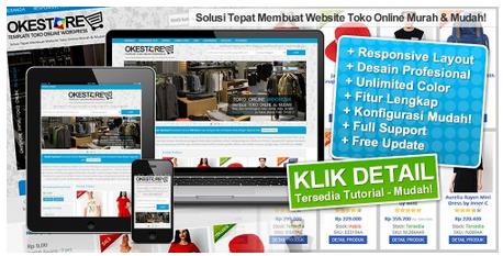 Premium Wordpress Themes Cocok Untuk Toko Online