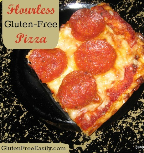 Flourless, Doughless, Gluten-Free Pizza from Shirley at Gluten Free Easily