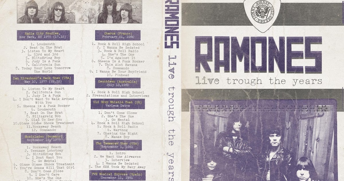 Ramones Glad To See You Go