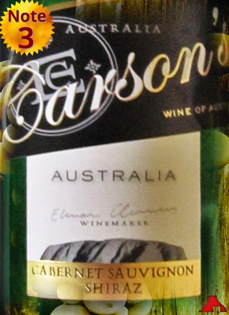 Carson's Cabernet Sauvignon Shiraz 2013/2014