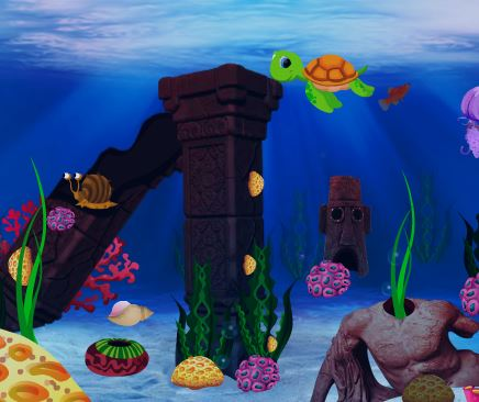 Play FirstEscapeGames Underwater World Treasure Escape