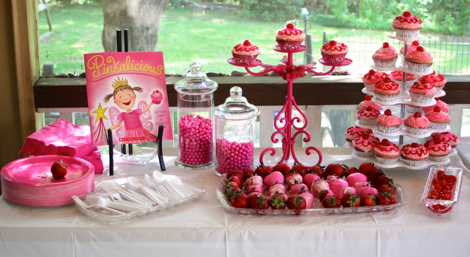 World of the Wilsons: Avery\'s Pinkalicious 3rd Birthday