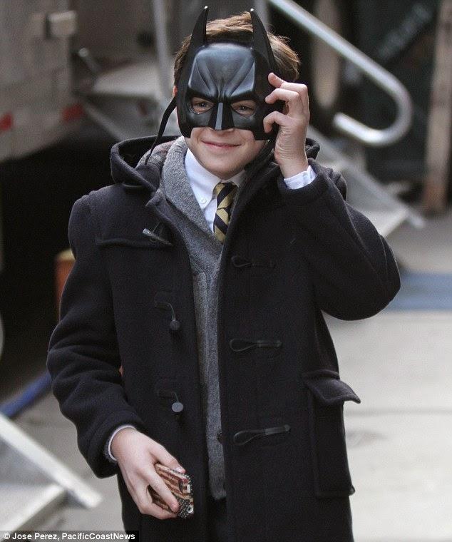 "David Mazouz es Bruce Wayne en ""Gotham"""