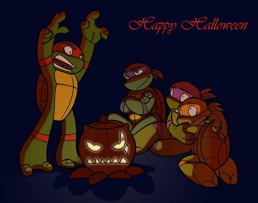 happy halloween por enolianslave