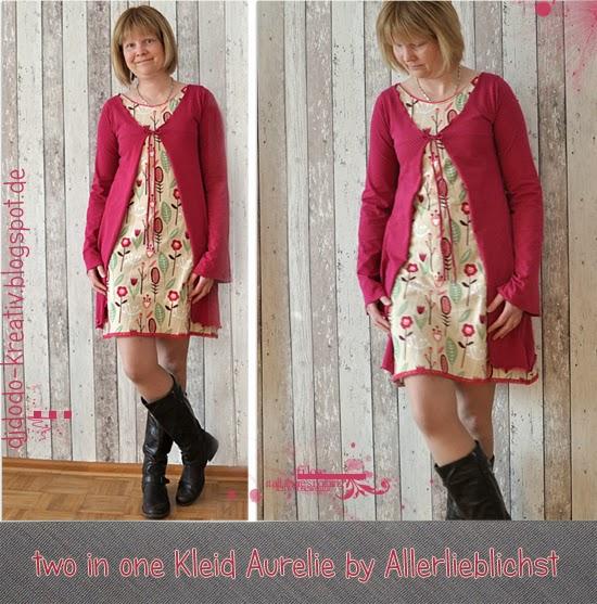 two in on Kleid Aurelie von Allerlieblichst