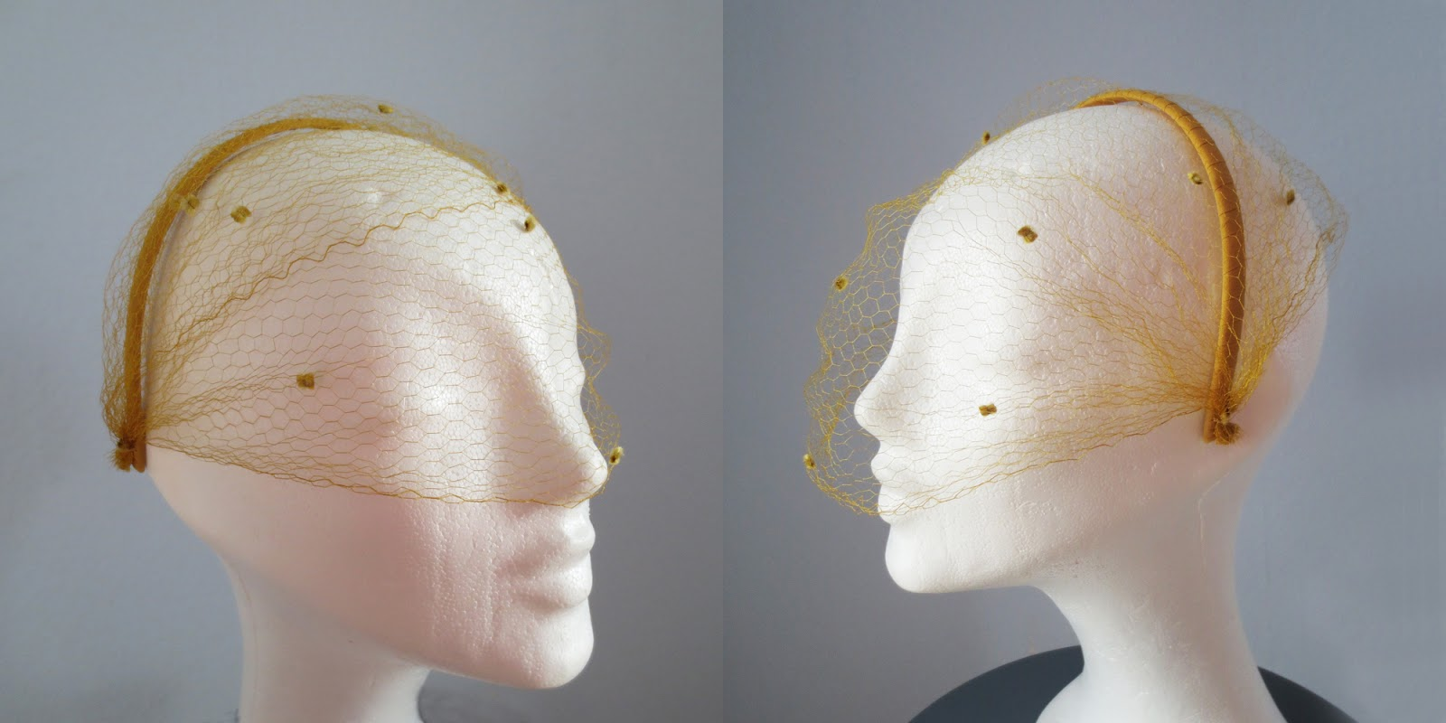 Hat by Stina P Topaze Jewels Hiver 1951