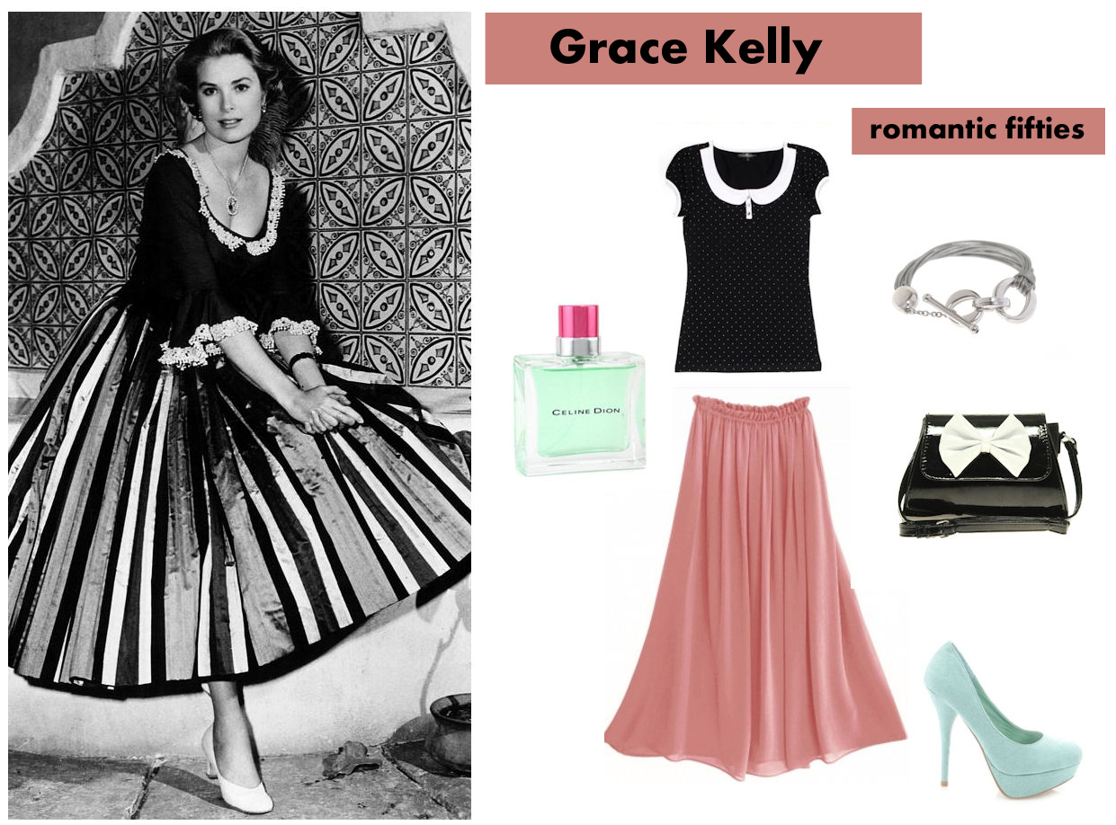 The gallery for grace kelly style clothing Grace fashion style chicago