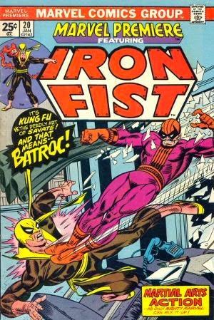 Marvel Premiere #20 comic book cover