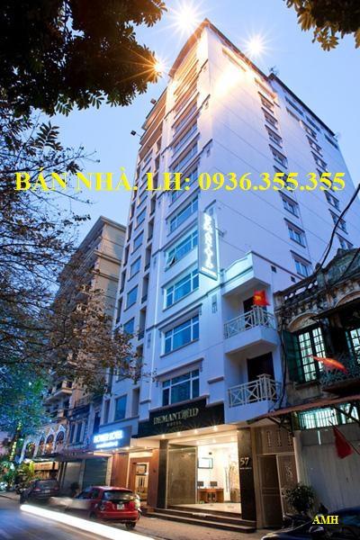 Bán nhà mặt phố Nguyễn Trường Tộ