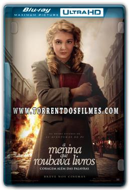 A Menina que Roubava Livros (2014) Torrent - BluRay Ultra HD 720p | 1080p Dual Áudio