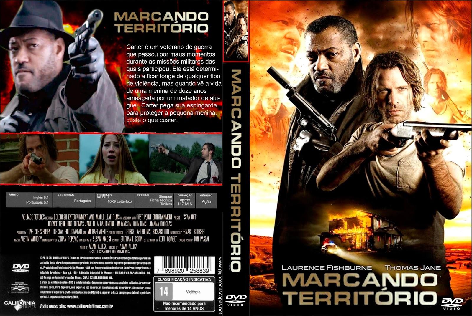 Marcando Território DVDRip XviD Dual Áudio Marcando Territ C3 B3rio   Capa Filme DVD