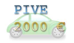 Pive, ayudas de 2000 euros para coches eficientes